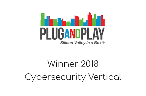 Plug And Play Cybersecurity Award Winner