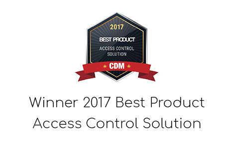 Best Product Access Control Solution Award Winner